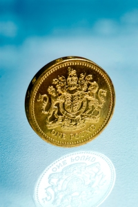 British one pound coin